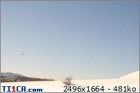 2009: le 11/01 à environ 15h30 ,16h - non lumineuxOvni en forme de diamant - st barnabé col de vence (06)  80o1m6cu