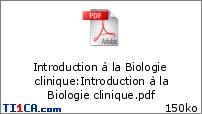 Introduction à la biologie clinique - Gonzalo O9iid2wo